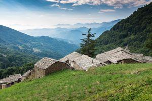 Maira (Macra) Valley, Cuneo, Italy