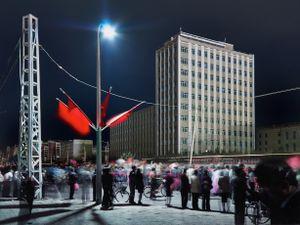 October Ten Parade, Pyongyang, North Korea, 2015
