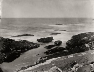 """Winslow Homer's Studio View 2."" 8x10""  Wet-plate collodion tintype. © 2012 Keliy Anderson-Staley"
