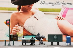"Tommy Bahama #02, from ""Coming Soon"" © Natan Dvir"
