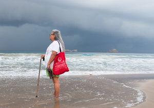 El Palmar beach. Ixtapa.