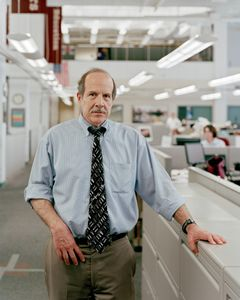 Bill Marimow, Editor Of The Philadelphia Inquirer, 4:56pm, 2011 © Will Steacy