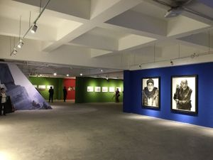 Installation view. 2nd Changjiang International Biennale of Photography and Video Art. Photo by Bisi Silva