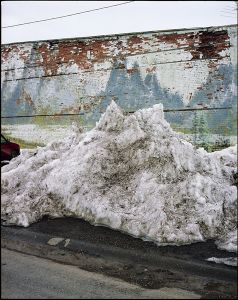 Snow Pile, Ashton Idaho © Alexis Pike