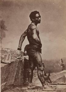 S. Hoare. Indigène des marquises, 1880-1885. Digital Image 2015 © Musée du quai Branly/Photo Scala, Florence