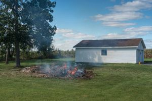 Brush Fire (Front View), Greensburg, Indiana, 2014