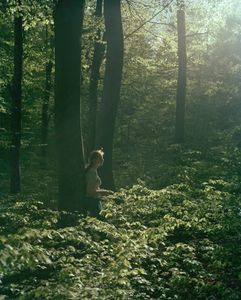 Amelia in the forest