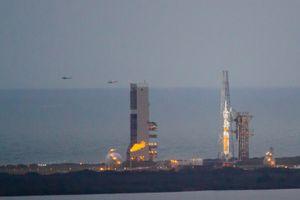Orion / EFT1 at T-27 minutes