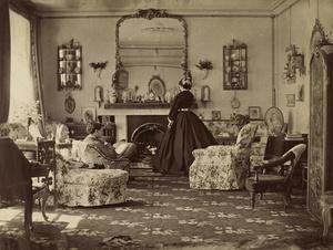 Lady Frances Jocelyn (1820-1880). Interior, 1865. © Courtesy of Washington National Gallery of Art