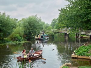 River Stour at Flatford, East Bergholt, Suffolk, 2014. Courtesy Flowers Gallery.