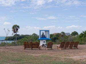 "Naval Base Shrine of Our Lady from ""If The Light Goes Out: Home from Guantanamo"" © Edmund Clark"