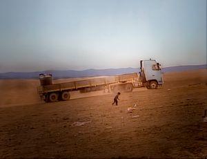 Negev Desert, Israel (2005). Unrecognized desert village. Growing up.