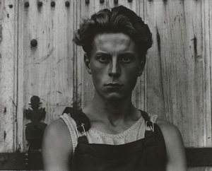 Young Boy, Gondeville, Charente, France. Paul Strand, 1951 (negative), mid- to late-1960s (print).
