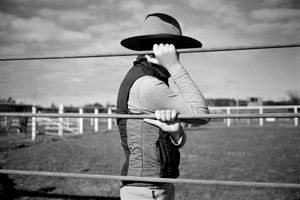 Cowboy hat. Kamden, Australia, 2012.