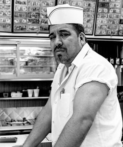 Line cook at Darcy Lynn's Snack Shop.