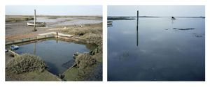 Grand Prize Winner, Portfolio Category Lens Culture International Exposure Awards 2011 Brancaster Staithe, Norfolk. 10 March 2005. Low water 1:15 pm, high water 6:20 pm, from the series Sea Change © Michael Marten