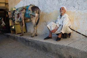 The Blindman. Fez Morocco