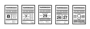 Posters Tauromaquia.