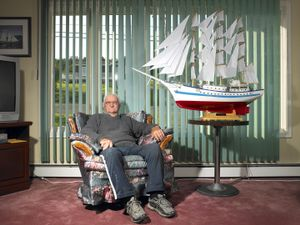 * Henrey Vokey/Master Boat Builder and Recipient of the Order of Newfoundland and Labrador/Trinity, Newfoundland/September 2011