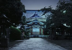 Toshogu Ueno, 150 x 215cm, Archival Pigment Print