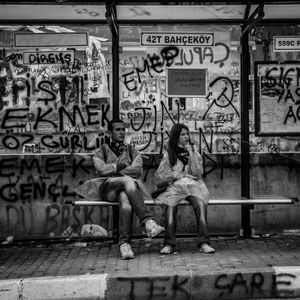 Love in bus stop 101