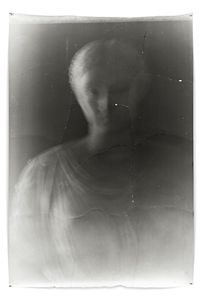 Statua 5, 2002, 188 x 127 cm, Silver Gelatin Print, Mixed Media © Jeff Cowen