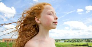 Valerie, from the series Natural Red Hair © Hanne van der Woude