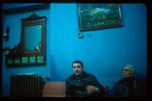 Turquie, Istanbul, Géorgiens dans hôtel de passe