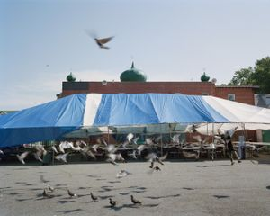 Ramadan Tent, Richmond Hill, NY.