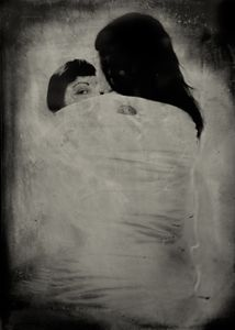 "The Perception of Pressure. 10""x14"" Tintype. From the series ""Soma"" © Michelle Rogers PritzlRogers Pritzl"