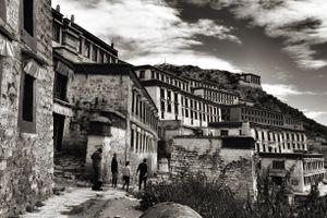 Ganden Monastery, 4300 m above sea level