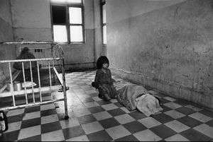 "Cambodia. Hospital in Phnom-Penh. 1975. From the book ""War Photographer: Between Shadow and Light"" © Christine Spengler"