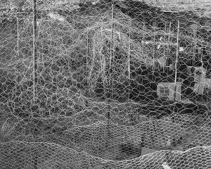 Chicken Wire, Coober Pedy, Australia, 2016.