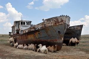 Aralsk, Kazakhstan, 2007 © Nick Hannes