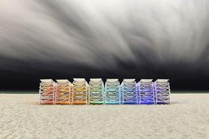 Beach Chairs © Jorge De La Torriente