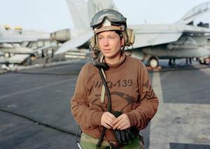 Line Shack Supervisor for EA-6B Prowler, USS Ronald Regan, North arabian Gulf, 2009
