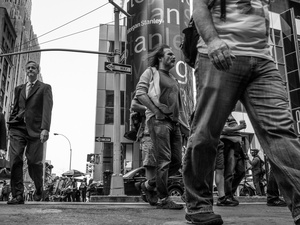 People Walking #13680