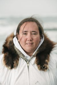 "Iñupiat elder Foster Simmonds has been a whaler since he was a child. He says, ""Hide something for me. Look at the food, the whales. Look at the sea, the whalers. A blessing for them. Take that and hide it in your heart."" Bernadette Adams was the first Iñupiaq woman to harpoon a whale. ""I happen to have no brothers, so I had to find some way to help the family out,"" says Bernadette."