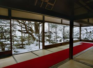 "Hosen-in 1, Winter. From the series ""View, Kyoto."" Showing at The Wrapping Project Bankside. Courtesy of Photo London."