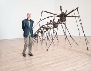 Louise Bourgeois at SFMOMA, San Francisco, 2017