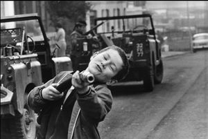 "Northern Ireland. Belfast. 1972. From the book ""War Photographer: Between Shadow and Light"" © Christine Spengler"