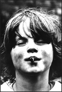 """Distress."" Dublin, 1980,"