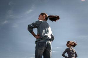 Girls during dance classes. Sukhum, Abkhazia. © Olga Ingurazova