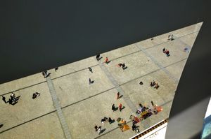 "France, ""The view from the Centre Pompidou (Paris)""  (2009-2013)  (50x75 cm, 1/10)"