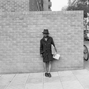 Newsboy, Hillbrow. 1972 © David Goldblatt