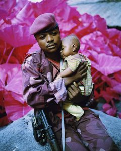 Madonna and Child, North Kivu, Eastern Congo, 2012 © Richard Mosse. Courtesy of the artist and Jack Shainman Gallery.