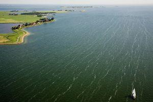 """IJsselmeer, inner sea (Zuyder Sea). From the book """"The Low Land"""" © Siebe Swart"""
