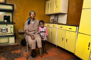 Matsekelo Masupha with her granddaughter - Lesotho 2015