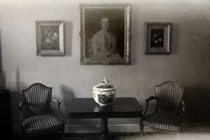 "A sitting room, from the series ""Deja vu""© Dongwook Lee"