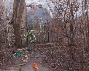 Garden Shed with Toys, Toronto Islands